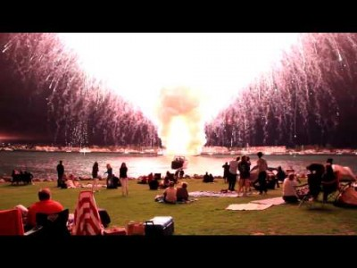 San Diego Fireworks 2012 – Loud and Up Close