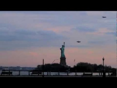 Flying People in New York City!