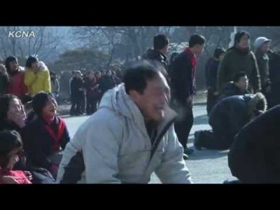 North Koreans Mourn the Death of Kim Jong 2 – Hilarious !