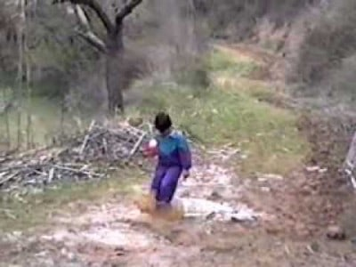 Why Jumping into Puddles is not a Good Idea!