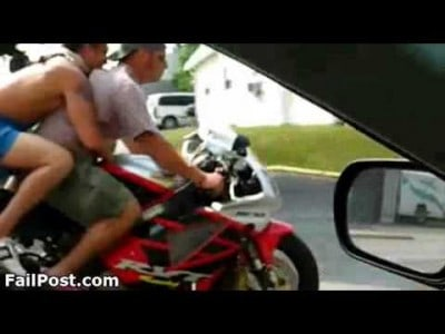 Another One of those Wheelie Fails!