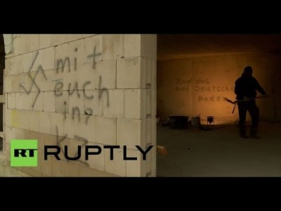 Germany: Swastikas scrawled all over Mosque under Construction