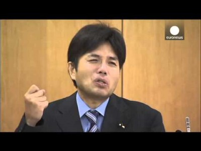 Japanese Politician bursts into Tears after using Public Money for Vacations