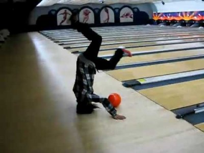 Most Impossible Bowling Trick Shot !