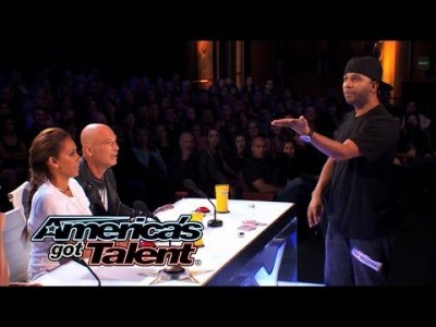 Bar Magician Flies through Amazing Tricks – America's Got Talent 2014