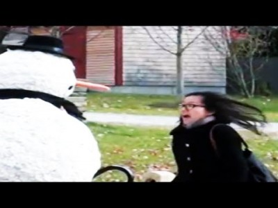 Funny Scary Snowman Prank Season 4 Episode 2 – Boston