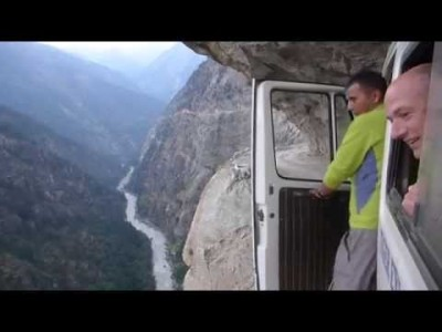 Insane Himalayas Bus Ride