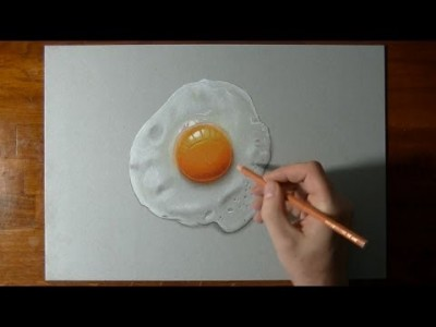How I Draw a perfectly Fried Egg
