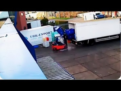 DISGUSTING Cargo Fail   How NOT To Load Fish on a Truck