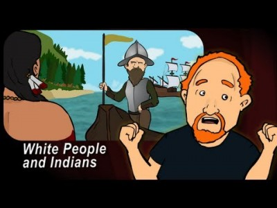 Louis CK – Animated: White People and Indians