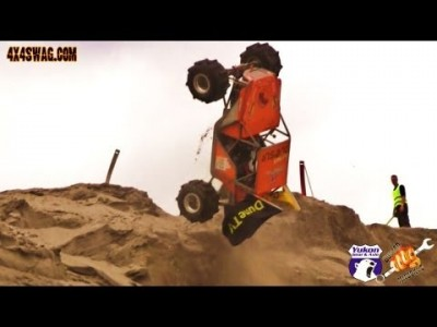 Insane Formula Offroad Crash