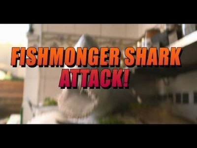 Fishmonger Shark Attack Prank