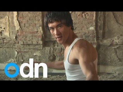 Is this Man from Afghanistan the reincarnation of Bruce Lee?