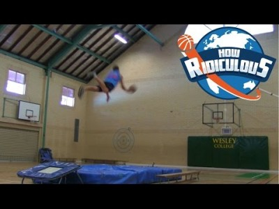 Epic Basketball Trick Shots – 2015
