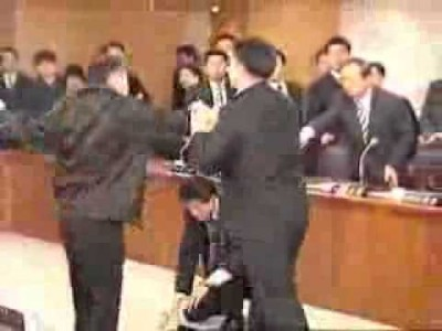 Masters of Kung Fu in The Japanese Parliament