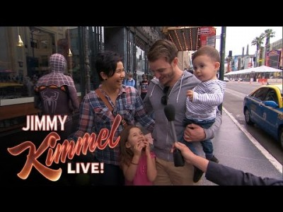 Kimmel asks Kids 'Who do you love more – Mom or Dad?'