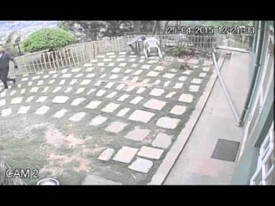 CCTV Catches Violence of Nepalese Earthquake – Part 2