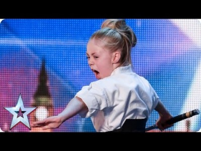 Don't mess with Karate Kid Jesse | Britain's Got Talent 2015