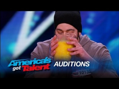 Judges Help Extreme Eater Devour 120 Raw Eggs – America's Got Talent