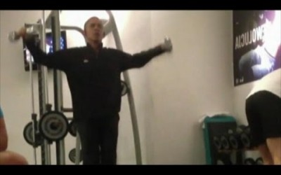 Barack Obama Workout Caught on Camera